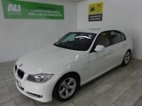 WHITE BMW 3 SERIES 2.0 320D EFFICIENTDYNAMICS ***FROM £37 PER WEEK***