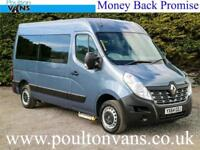 2014 (64) RENAULT MASTER MM33 BUSINESS L2H2 2 SEAT WHEELCHAIR ACCESS MINIBUS
