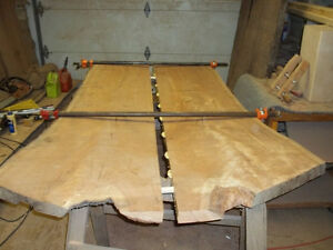 LIVE EDGE WOOD SLABS FOR SALE! Spalte flame maple $8/board foot