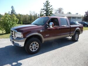 2006 FORD F250 SUPERDUTY KING RANCH 6.0 DIESEL  $7500.