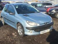 2001/Y Peugeot 206 2.0HDi 90 el/sr D Turbo LONG MOT EXCELLENT RUNNER