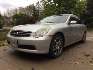 2006 Infiniti G35 - GREAT CONDITION AND WELL MAINTAINED!