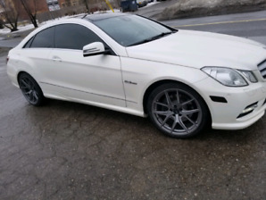 2012 E350 coupe 4 matic AMG LINE