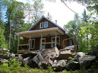 Waterfront COTTAGE / CHALET For Sale on Hughes Lake!