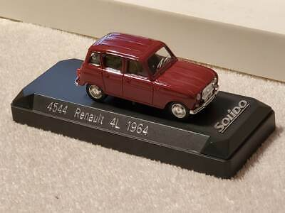 Solido 4544 Renault 4L Diecast Model Car Made In France 1:43