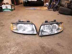 Audi B6 head lights