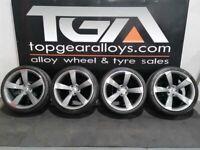 "20"" TTRS STYLE Alloy Wheels & Tyres"