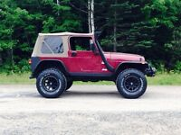 2002 Jeep TJ $6800 obo reduced to sell