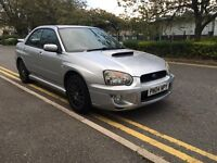 2004 Subaru Impreza wrx uk 300 limited edition extensive service history VOSA verified 2 owners