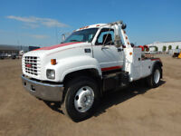 2001 GMC C7500 S/A Tow Truck For Sale Swift Current Saskatchewan Preview