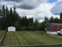 Large Double lot located in Dorintosh, SK