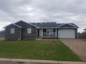 New 1400 square foot house in shellbrook