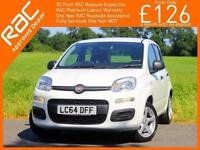 2014 Fiat Panda 1.2 Pop 5 Door 5 Speed Just 1 Private Owner Only 9,000 Miles Bal