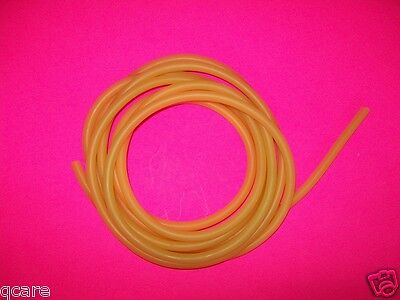 4 Foot Of 14 I.d X 132 Wall Latex Surgical Rubber Tubing Amber Thin Wall Tub