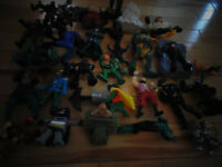 Bunch of Action Figures/Toys