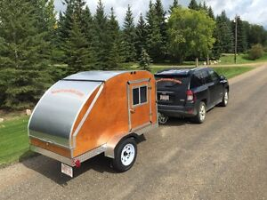 Hand crafted Teardrop trailers made in Alberta.