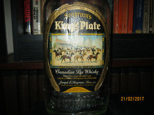 1936 seagram Kingsplate whiskey bottle