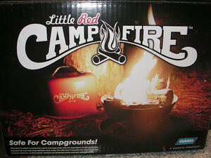 Camco Little Red Campfire  Take your fire with you! Our compact,
