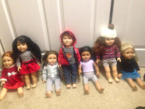 Newberry Dolls with Accessories
