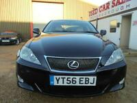2006 56 LEXUS IS 2.5 250 SE 4D AUTO 204 BHP