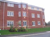 2 BED 2 BATH* FURNISHED* GROUND FLOOR FLAT*NO FEES*QUITE LOCATION*NR ALL AMENITIES*M6/M55/M62