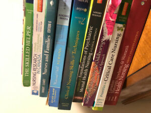 Various Used Nursing Textbooks