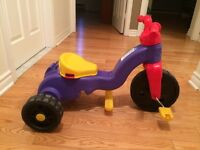 TRICYCLE FOR 18months up to 5years old