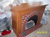 Free Decorative Electric Fireplace