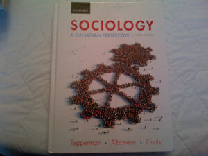 Sociology A Canadian Perspective 3rd Edition
