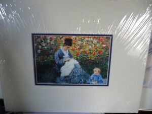 "Claude Monet ""Camille Monet and a Child in the Artist's Garden Stratford Kitchener Area image 4"