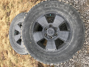 Toyota Tacoma / 4Runner OEM rims and winter tires