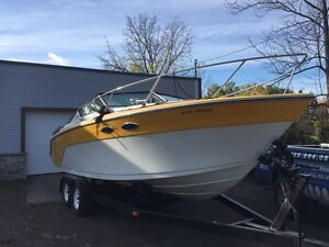 Priced to sell 26 fibreglass  boat1990 454