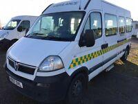 Vauxhall movano 3.5 t 2.5 diesel lwb 07 Reg ambulance/patient transfer bus