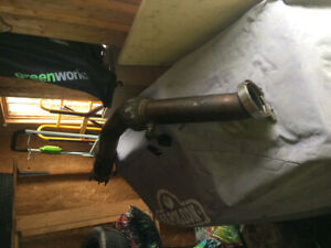 Downpipe 3 pouces custom stainlesss