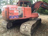 EX135 excavator (1999) spares or repair