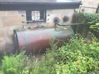 Old oil tanker