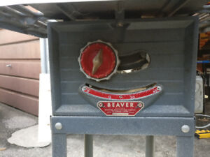 """Rockwell Bever 8""""; Table Saw"""