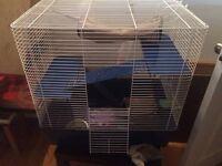 Rat/small critter cage