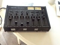 Stereo audio mixer