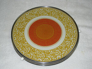 VINTAGE CAKE PLATE - ROTATING - CHECK IT OUT!