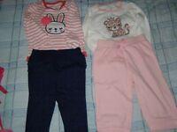 Vetements pour fille 6-12 mois
