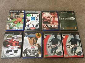 Various PS2 games (see description for prices....)