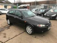 Nissan Almera 1.5 SE * 2005 * 5 DOOR * 89K * LONG MOT *