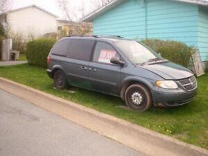 2006 Dodge Caravan /$750 OBO / parts or repair