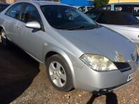 2002 Nissan primera 1.8 mot march