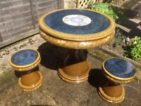 MUST GO - REDUCED!!! CERAMIC CHINESE TABLE