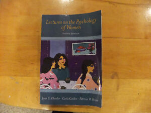 Lectures on the Psychology of Women 4th edition