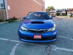 2008 Subaru Impreza WRX STi / LOADED / 6SPD / NAVIGATION / AWD / LOW KMS!!!!