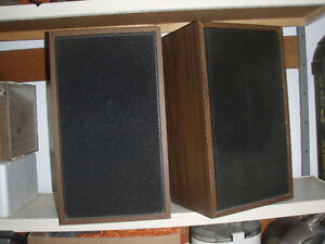 Pair of Vintage Speakers
