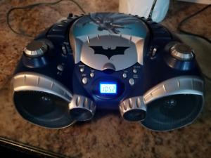 Warner Brothers Batman boombox